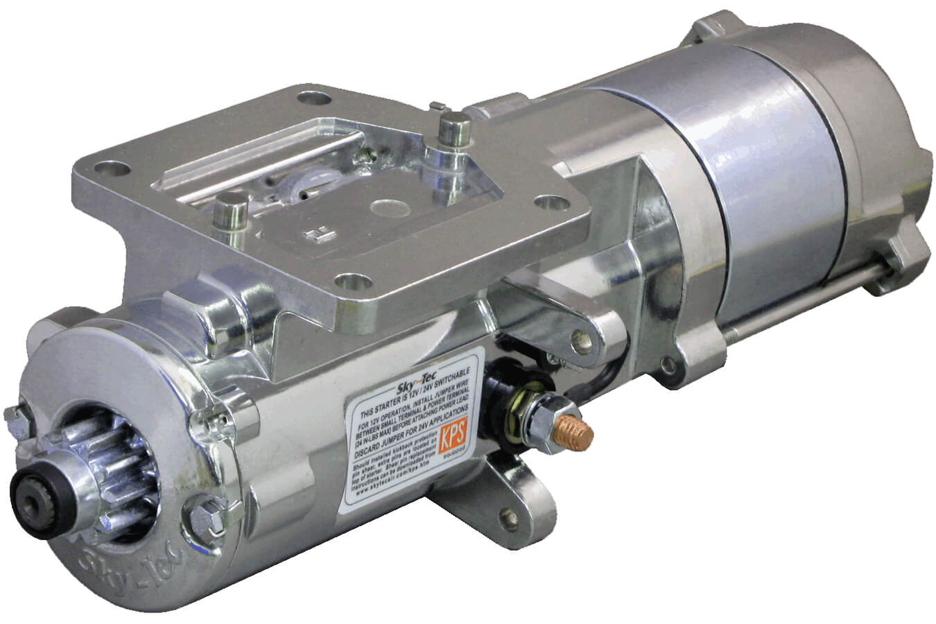 Sky Tec High Torque Inline Lycoming Starter From Aircraft