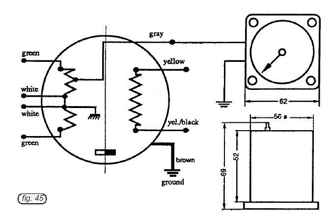aviasport rotax 503-582 ducati ignition tachometer  4