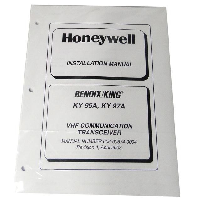 BENDIXKing KY 97A Installation manual