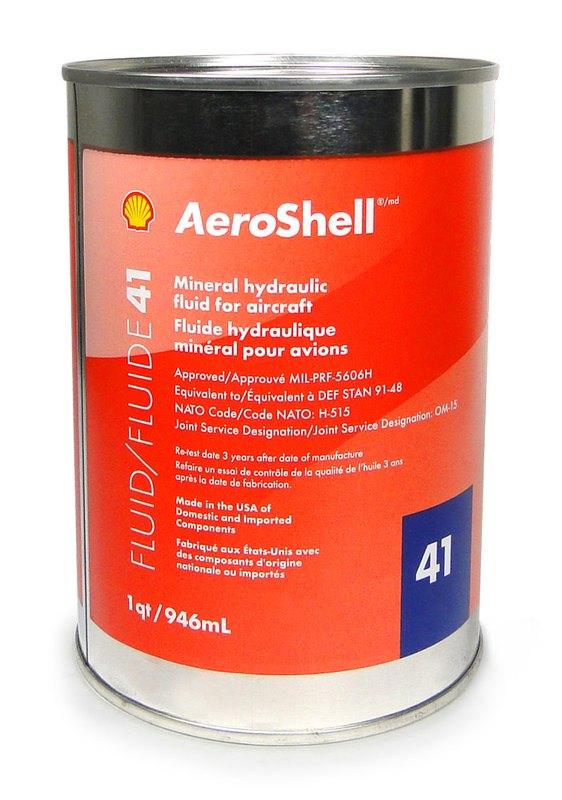 aeroshell hydraulic fluid 41 quart mil prf 5606h from. Black Bedroom Furniture Sets. Home Design Ideas