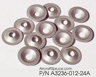Tinnerman Countersunk Washers From Aircraft Spruce