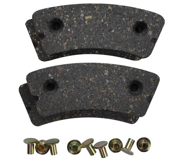Brake Pad Rivets : Rapco brake lining kits from aircraft spruce
